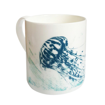 Bone China Mug - Jellyfish