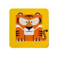 Tiger Coaster - Full Colour Melamine