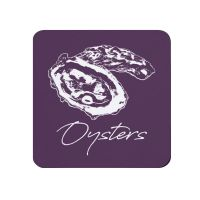Oysters Coaster - Purple - NEW