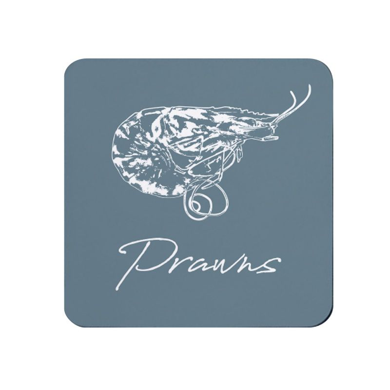 Prawns Coaster - Grey - NEW