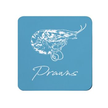 Prawns Coaster - Blue - NEW