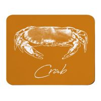 Place Mat - Crab - Orange - NEW