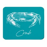 Place Mat - Crab - Turquoise - NEW