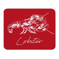 Lobster Placemat - Red Melamine - Coastal Style