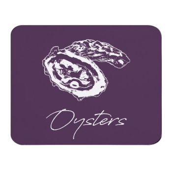 Place Mat - Oysters - Purple - NEW