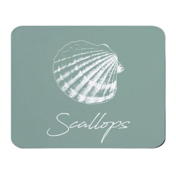Place Mat - Scallops - NEW