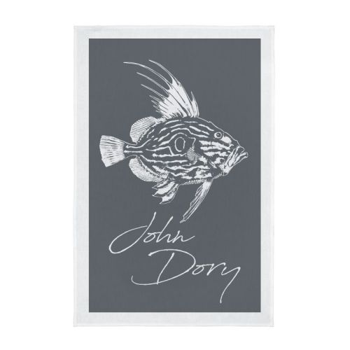 Tea Towel - John Dory - Grey