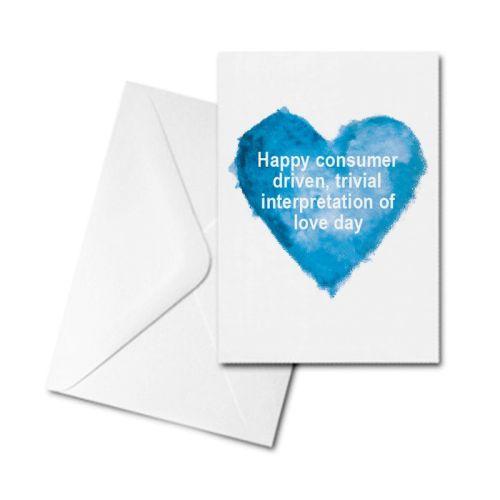 Valentine's Card - Consumer Driven Love Day