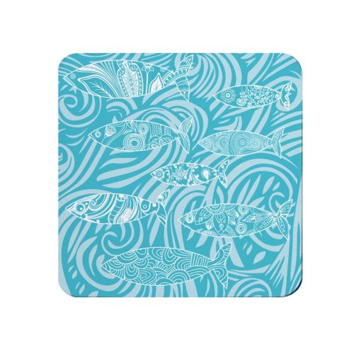 Shoal of Fish Coaster - Dark