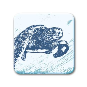 Glass Coaster - Turtle