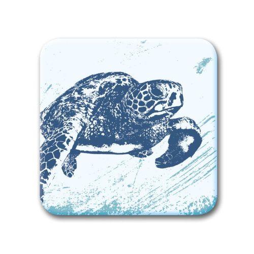 Glass Coaster - Turtle