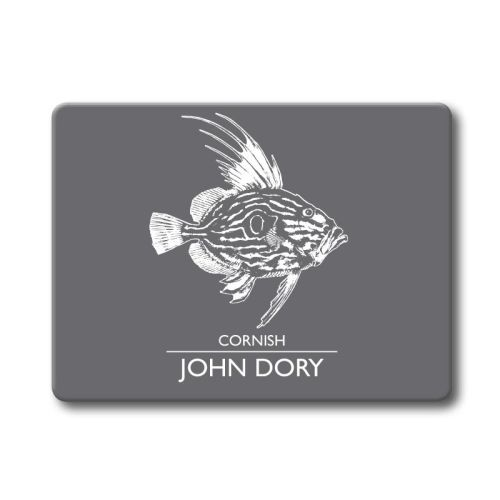 Textured Glass Surface Protector - Cornish John Dory
