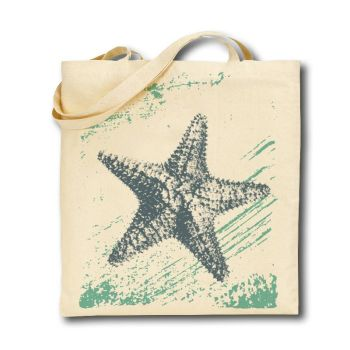 Cotton Tote Bag - Starfish