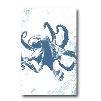 Melamine Fridge Magnet - Octopus