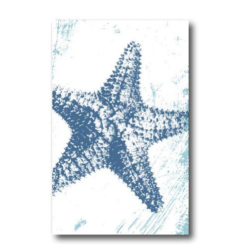 Melamine Fridge Magnet - Starfish
