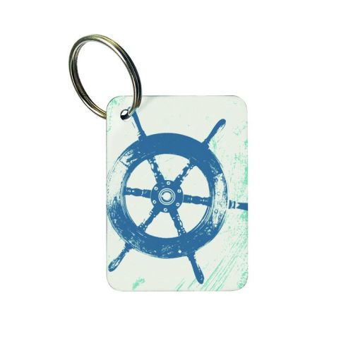 Keyring - Ship's Wheel