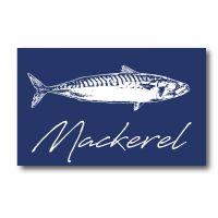 Melamine Fridge Magnet - Mackerel