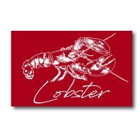 Melamine Fridge Magnet - Lobster