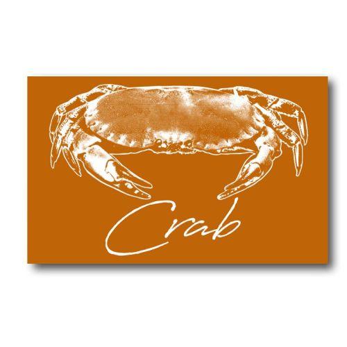 Melamine Fridge Magnet - Crab
