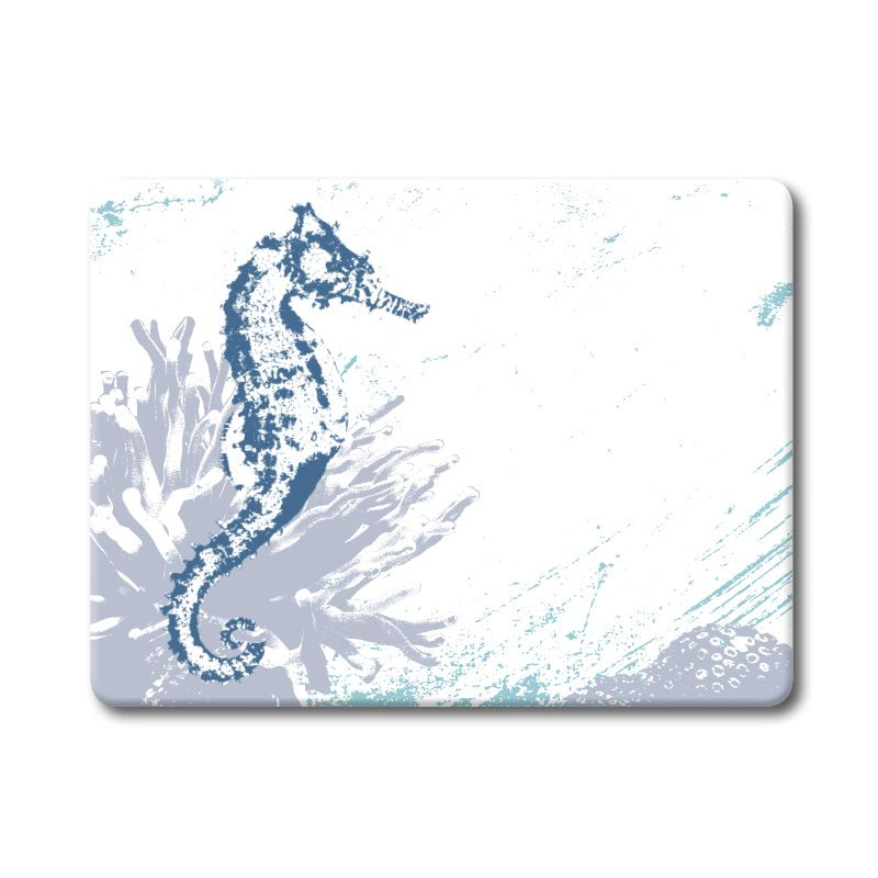 Textured Glass Surface Protector - Seahorse