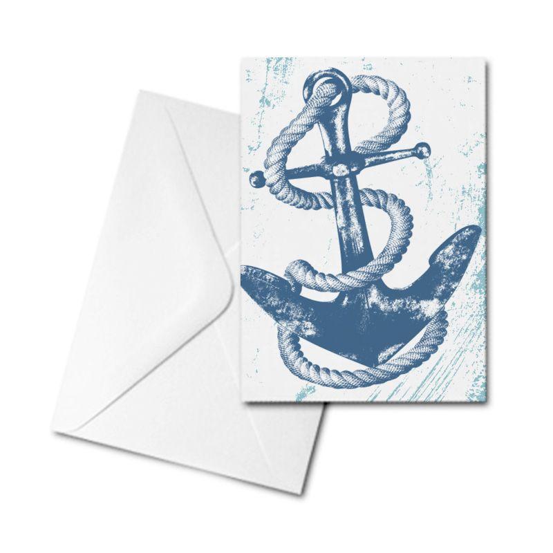 Blank Card - Anchor