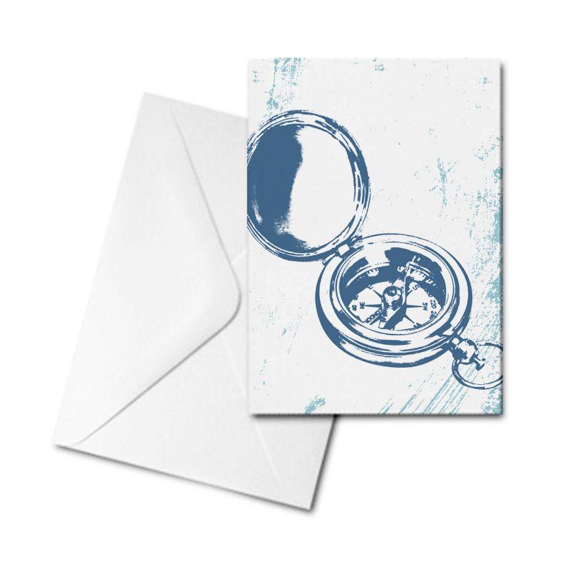 Blank Card - Compass