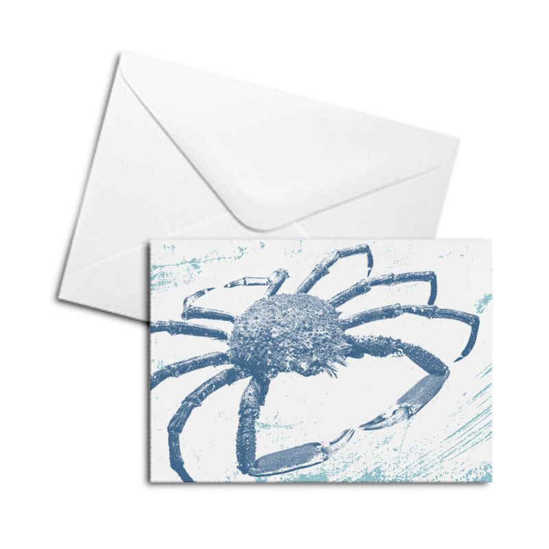 Blank Card - Spider Crab