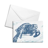 Blank Card - Turtle