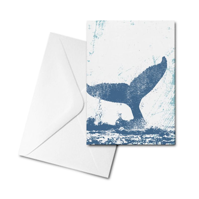 Blank Card - Whale Tail