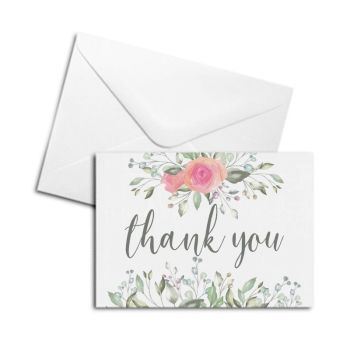 Blank Card - Thank You