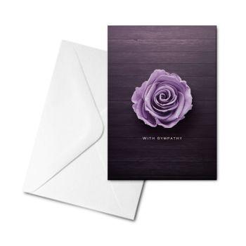 Blank Card - With Sympathy