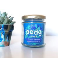 Handmade Plant Based Candle - Blueberry and Vanilla