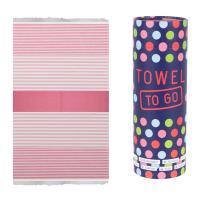 Bali Hammam Towel - Fuschia/Pink