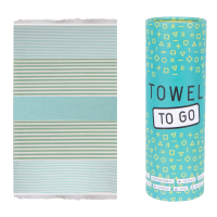 Bali Hammam Towel - Turquoise/Green