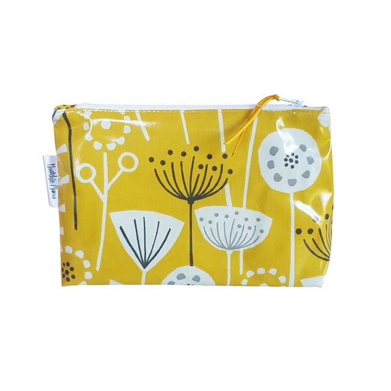 Yellow Cornflowers Cosmetic Bag