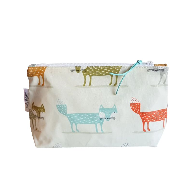 Foxes Cosmetic Bag