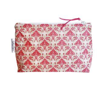 Fleur de Lys Cosmetic Bag