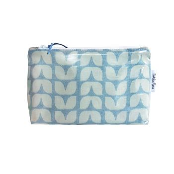 Blue Tulip Cosmetic Bag