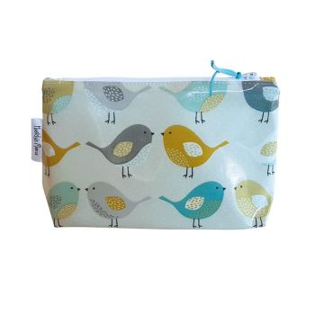 Scandi Birds Cosmetic Bag