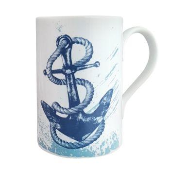 A Stunning Porcelain Mug - Anchor Design