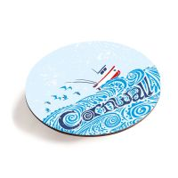 Cornwall Boat Teapot Stand - Melamine - Cornish Vibes