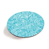 Shoal of Fish Teapot Stand - Turquoise - Seaside Vibes