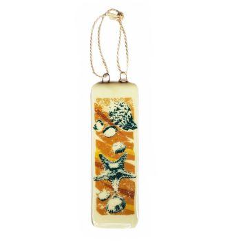 Handmade Fused Glass Hanging - Starfish