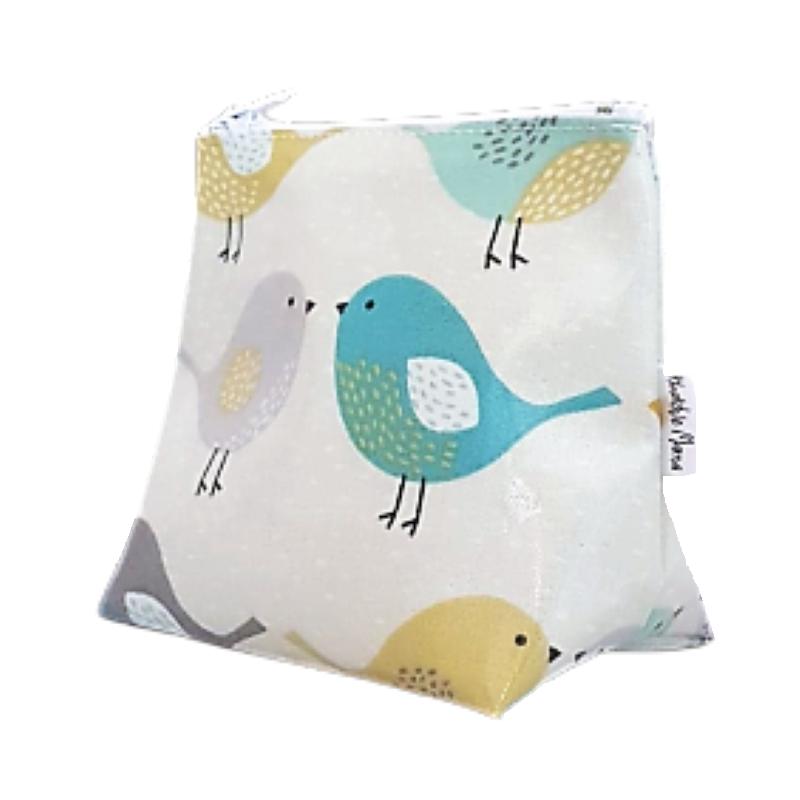 Mini Scandi Style Birds Cosmetic Bag
