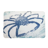 Melamine Fridge Magnet - Spider Crab