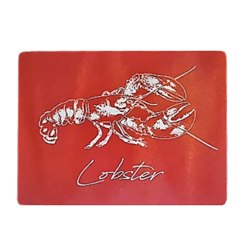 Textured Glass Surface Protector - Lobster