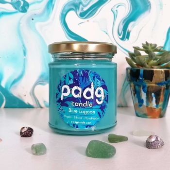 Handmade Plant Based Candle - Blue Lagoon