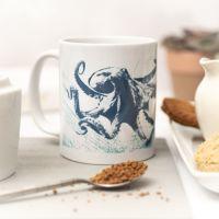 Beautiful Ceramic Mug - Octopus Design