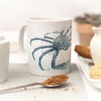 Beautiful Ceramic Mug - Spider Crab Design