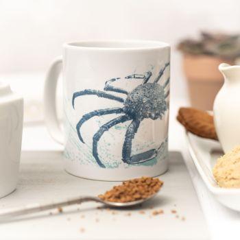Beautiful Ceramic Mug - Spider Crab Design